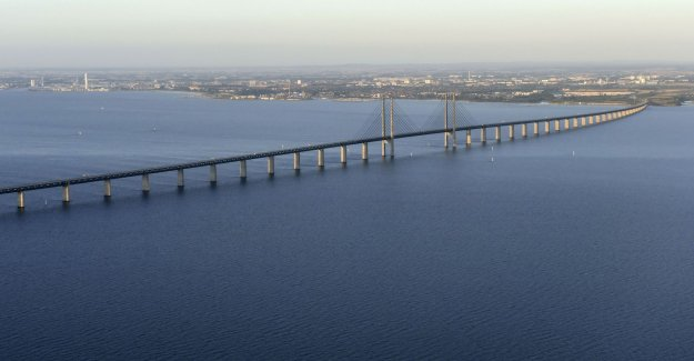 The öresund bridge opened again after the accident