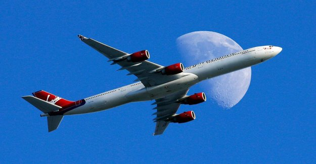 The plane hit the speed record across the Atlantic