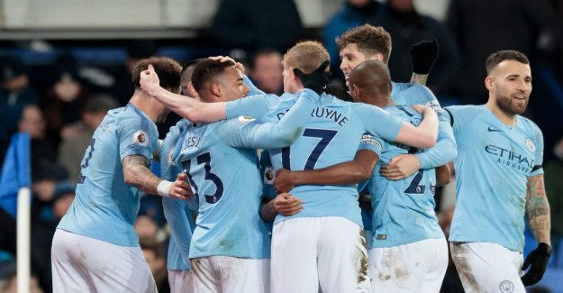 The price of an upset against Manchester City: 7.3 million
