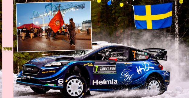 The strike in Gothenburg threatens the world rally CHAMPIONSHIP