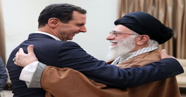 The syrian and Iranian leaders to agree on the war