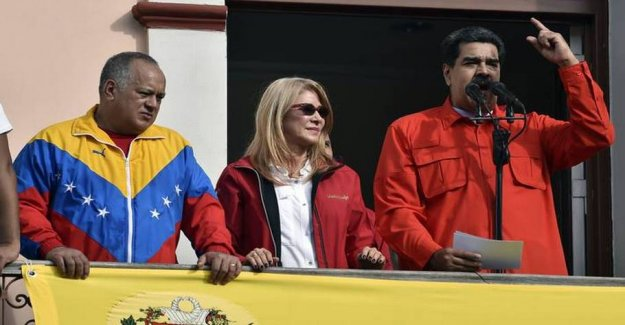 The u.s. announces new sanctions against the Maduro people in Venezuela