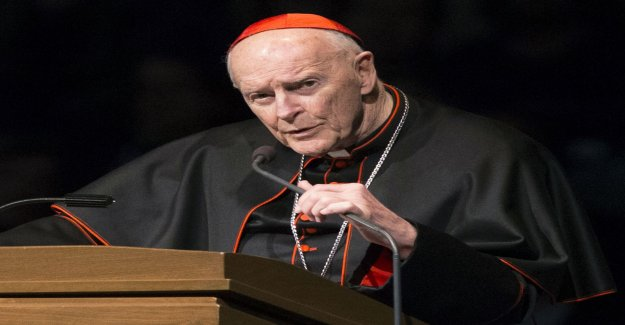 The vatican excludes sexanklagad cardinal