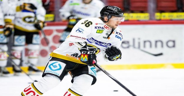 The weasels NHL-confirmation Jussi Jokinen showed his skills Nordiksen - size, five power points