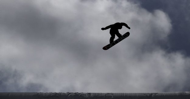 The weather stops the big air world CUP: A bad decision