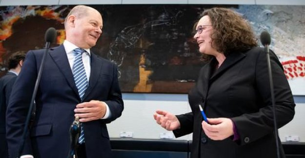 The welfare state debate: Scholz supports Nahles' plans