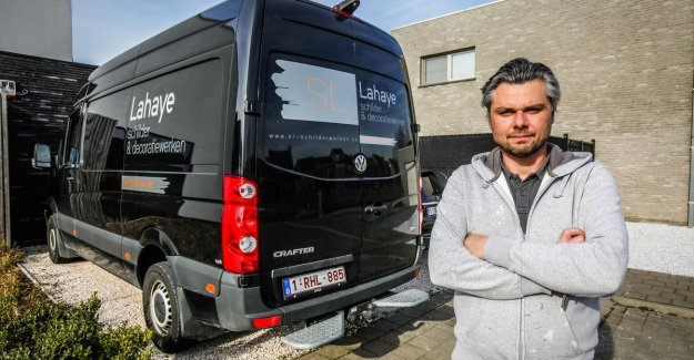 Thieves strike at Bruges painters: Such thefts to ensure, it is not possible