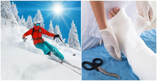 This can a ski trip be expensive if you hurt yourself