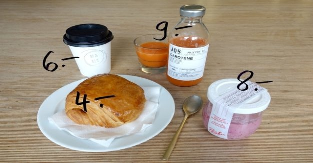 This is the most expensive Züri-Breakfast to go