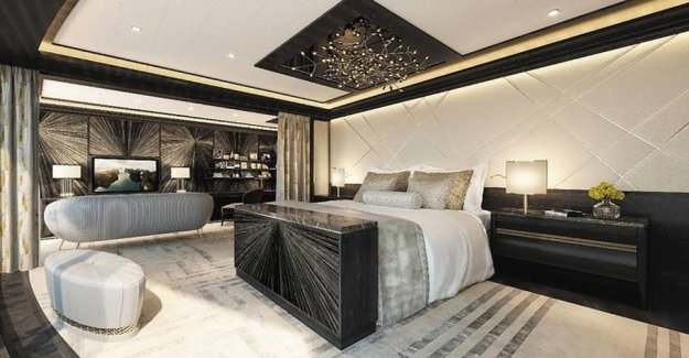 This luxurious krydstogtlejlighed is greater than your home - and more expensive