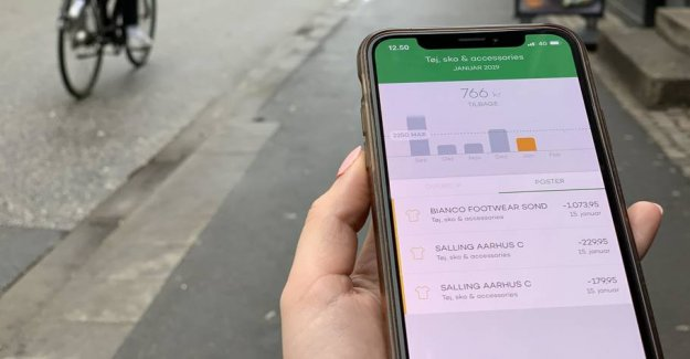 Thousands use the Danish app as a financial nanny
