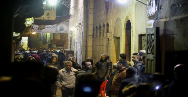 Three dead and several injured in Cairo