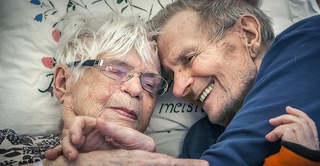Today on tv: Eila and Hemmi married 91 years old - I Love you more than everything my dear