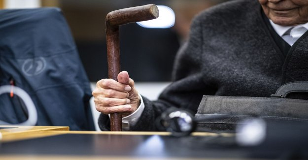 Trial against former SS-guard is stopped