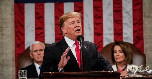 Trump calls for unity in State of the Union, but: I will ensure that the wall is built!