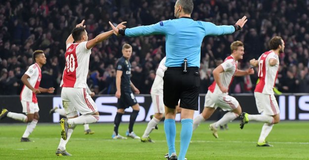 UEFA put videoref out of the wind after controversy in Ajax - Real Madrid