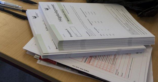 UHR draws back the results for provfuskare
