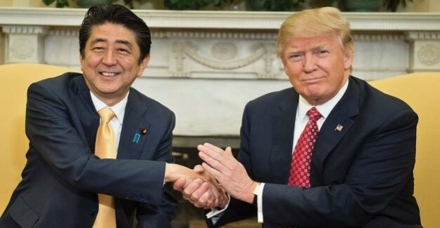 US President : Trump: Abe suggested me because of North Korea for the Nobel prize
