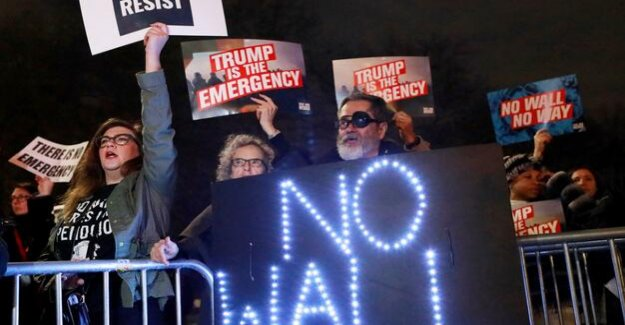 US President Trumps a state of emergency Declaration, is meeting wide resistance