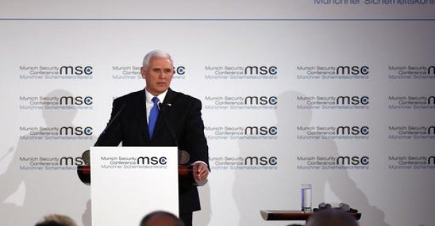 US Vice-President, Pence calls for the end of the Iran agreement