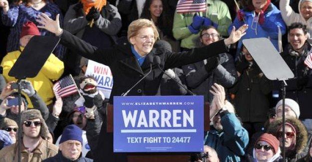USA: Left-wing Democrat, Warren is applying