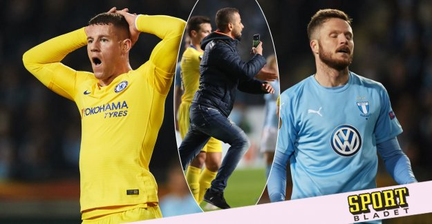 Uefa is investigating the Malmö and Chelsea are in danger to be punished