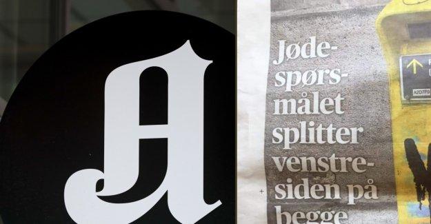 Use the full page on the jødespørsmål-blister