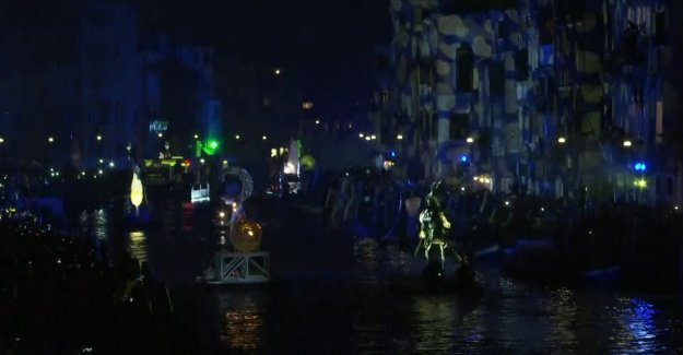 VIDEO. Beautiful: the carnival of Venice will start with spectacle on water