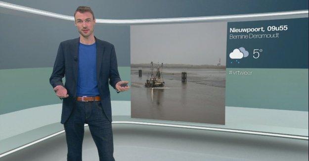 VIDEO. Weatherman Bram makes his debut on One