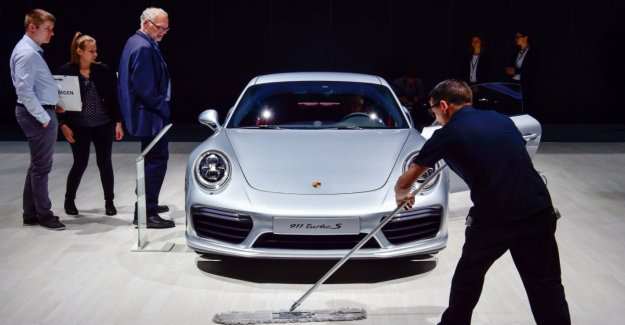 VW grants to high consumption values at the Porsche 911