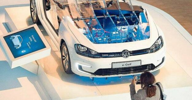 VW on the way in electric mobility : The diesel Tinker to the climate savers