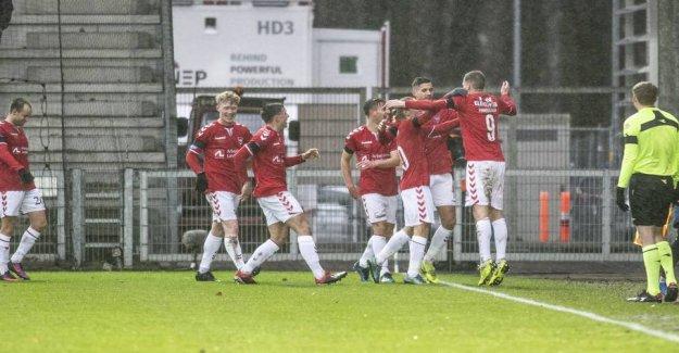 Vejle triumphed in the Glens nightmare-debut
