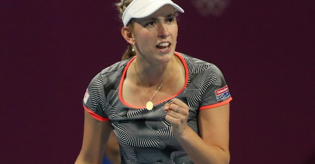Very Mertens grabs now also scalp of ex-number one Kerber and finals in Doha