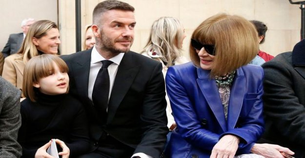 Victoria beckham's fashion circles with the daughter was like Anna wintour's mini-me