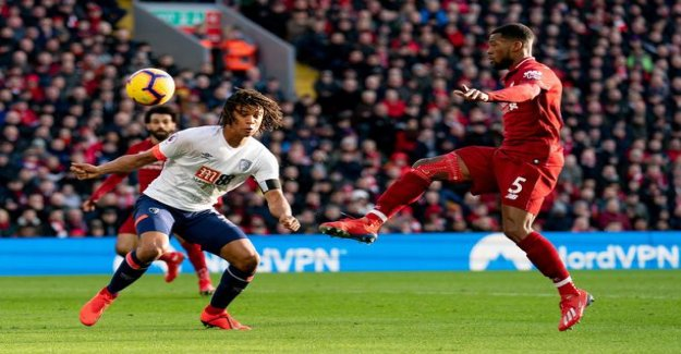 Video: Liverpool returned to winning of the road - the Dutch taiturilta the magical touch of the ball