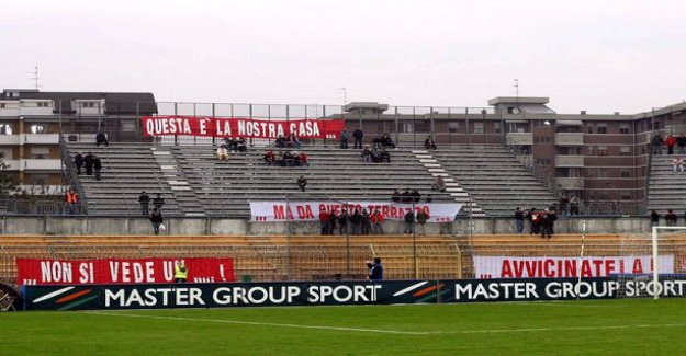 Video: Sad, the football game Italy - Serie C match ended in the lead to 20-0