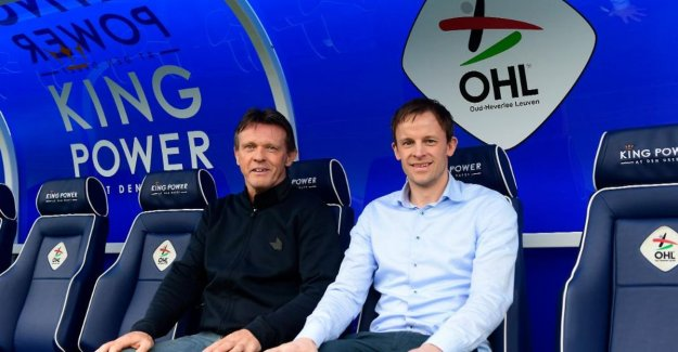 Vincent Euvrard new head coach for OH Leuven, Franky Vercauteren was appointed as the athletic advisor