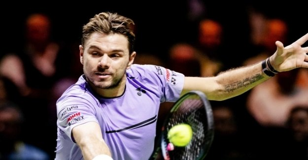 Wawrinka missed the tournament victory