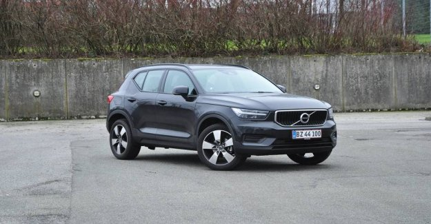 Well running in the cheapest Volvo XC40