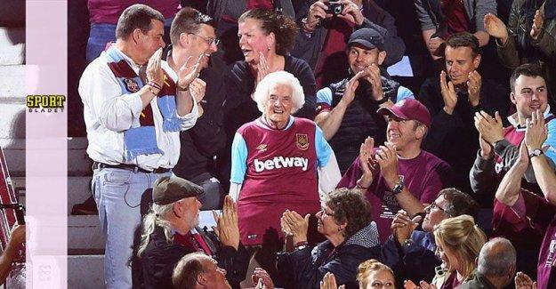 West Ham's oldest supporter dead – 102