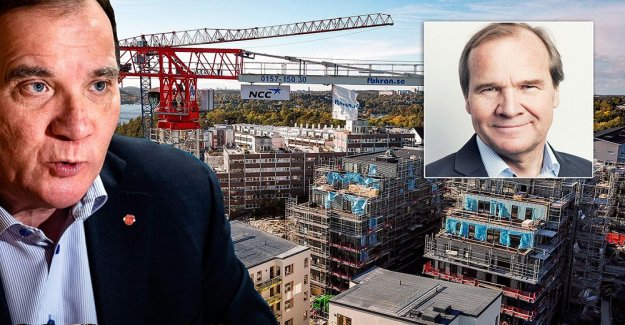 What are you going to solve the housing crisis, Löfven?