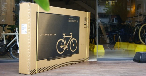 Why a Bicycle manufacturer, printed its boxes with TV's
