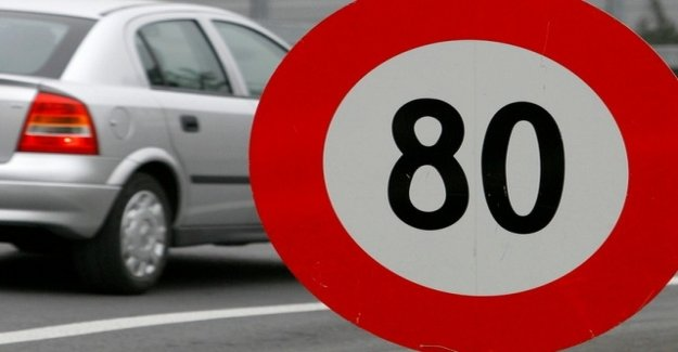 With 145 km/h on 80-track: police to stop more speeders