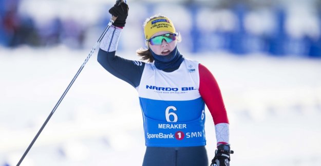 World CHAMPIONSHIP gold to the To Nilsen in paralangrenn