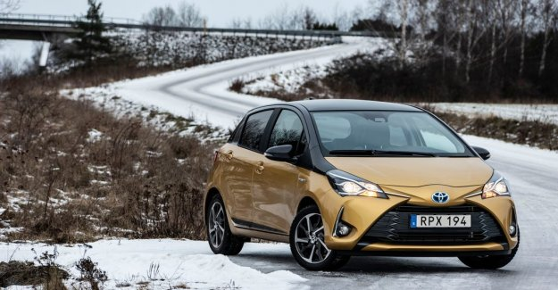 Yaris - the only småbilen with the hybrid
