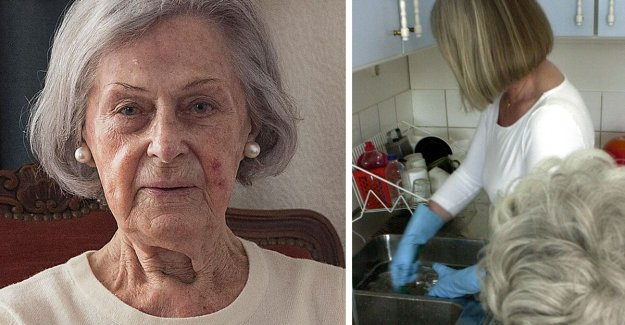 Ylwa, 90, was assisted by the 58 individual in the home