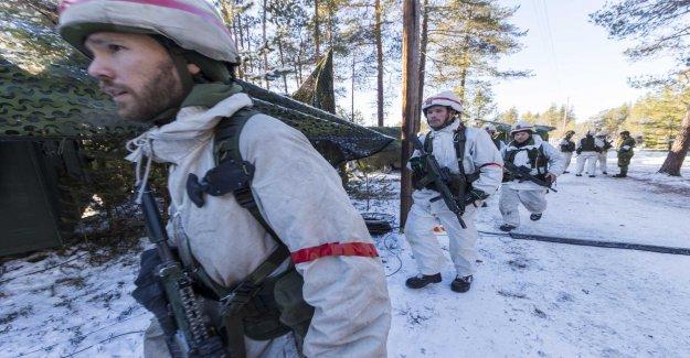 10 000 soldiers occupy Norrbotten