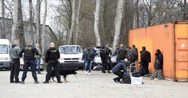 13 arrested in the investigation against itinerant criminal groups