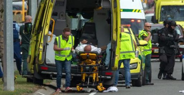40 people died in act of terrorism in new Zealand