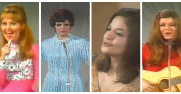 50 years ago, there was the song Contest four (!) winners